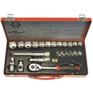 Socket Set Metric 3/8 Drive T4656