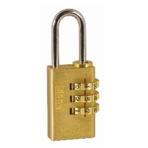110 30mm Brass Combination Padlock K11030D