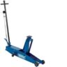 48350 3 Tonne Long Chassis Hydraulic Trolley Jack With A Quick Lift Facility