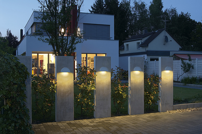 Pema wall lights in situe