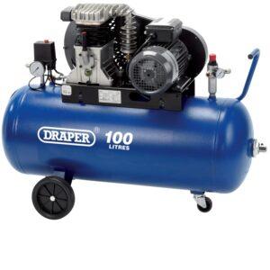 09531 100 Litre 230V Belt Driven Air Compressor