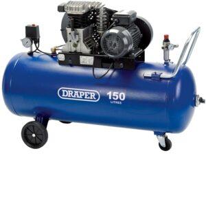09532 150 Litre 230V Belt Driven Air Compressor