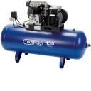 09534 150 Litre 230V Belt Driven Stationary Soft Start Air Compressor
