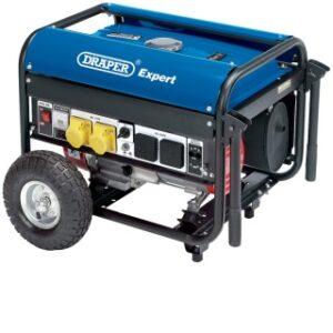 09698 2kW 2.2kVA Petrol Generator Complete With Wheels