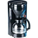 Haden 10608 10 Cup Coffee Maker With Non-Stick Warming Plate In Black
