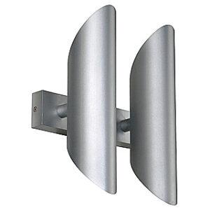 147122 Ova Wall II 4x50W GU10 Aluminium Wall Light