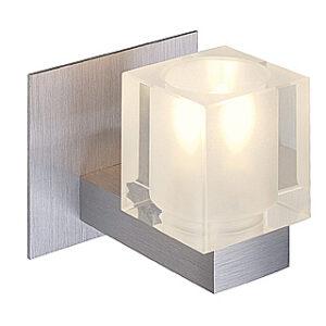 147469 Koko I G9 Brushed Aluminium Wall Light