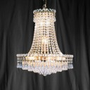 Searchlight 185-16 Bohemia Gold Plated/Crystal Chandelier