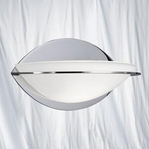 2316CC Chrome Oval Wall Washer