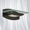 2730BC Black Chrome Finish Wall Light