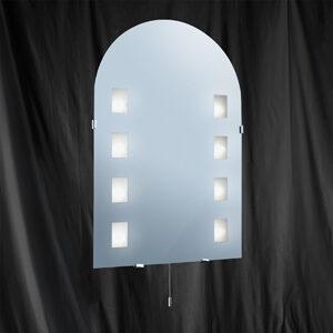 3225 Halogen Oval Mirror Light IP44
