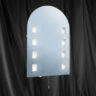3225 Halogen Oval Mirror Light IP44
