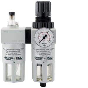43402 PCL 1/2″ BSP Combined Filter/Regulator And Lubricator Unit