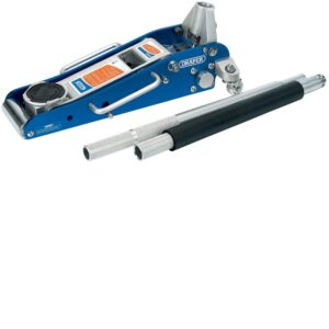 45329 1.5 Tonne Low Profile Aluminium Trolley Jack With A Quick Lift Function