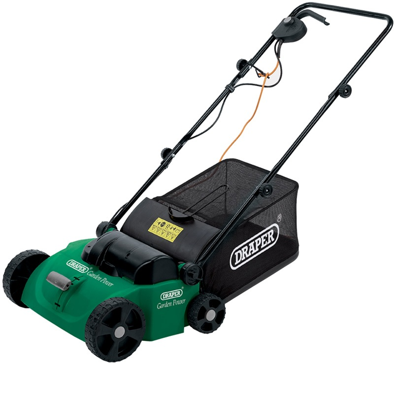 45544 230v 330mm 1300w 2 In 1 Lawn Scarifier And Aerator
