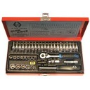 Socket Set Metric 1/4 Drive T4655