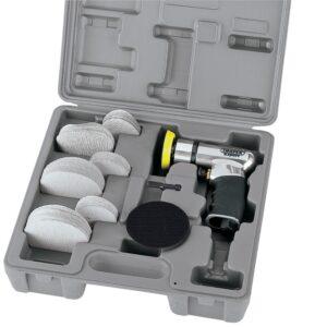 47617 Expert 50/75mm Compact Dual Action Soft Grip Air Sander Kit