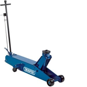 48356 10 Tonne Long Chassis Hydraulic Trolley Jack