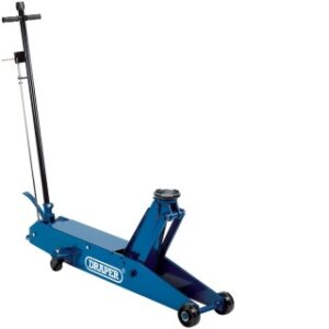 48357 5 Tonne Long Chassis Hydraulic Trolley Jack With A Quick Lift Facility