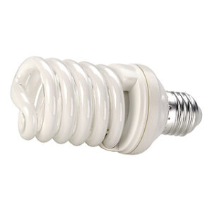 508960 E27 15w Spiral Shaped Low Energy Lamp In Warm White 2700K