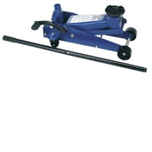 59301 3 Tonne Heavy Duty Garage Trolley Jack With A Quick Lift Facility