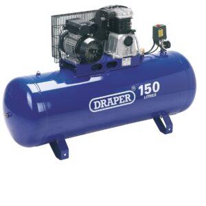 69337 150 Litre 230V Stationary Belt Driven Air Compressor