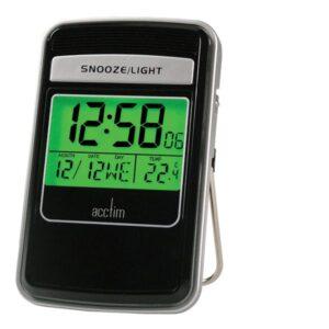 Acctim 71213 Smartlite Radio Controlled Travel Alarm