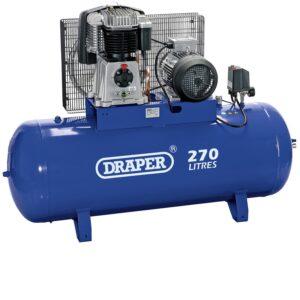 76120 270 Litre 415V 3 Phase Belt Driven Stationary Air Compressor
