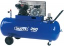 77002 200 Litre 230V V-Twin Belt Driven Air Compressor