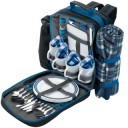 Draper 77007 4 Person Back Pack Picnic Set