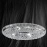 Searchlight 9190CC Safia Chrome/Crystal 24 Light Ceiling Light