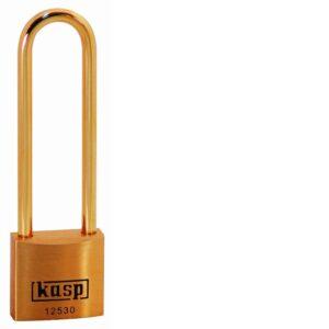 125 30mm Premium Brass Padlock – Long Shackle K12530L70BD