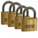125 Premium Brass Padlocks – Quad Packs
