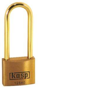 125 40mm Premium Brass Padlock – Long Shackle K12540L63BD