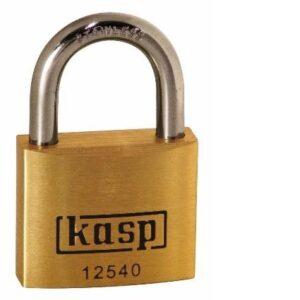 125 Premium Brass Padlocks – Stainless Steel Shackle