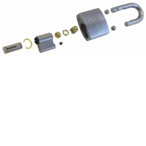 180 Hardened Steel Padlock – Components
