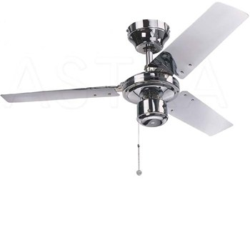 Global 36 kroma ceiling fan in chrome innovate electrical global 36 kroma ceiling fan in chrome mozeypictures Gallery