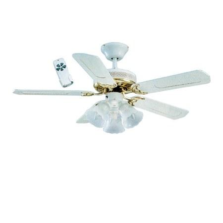 global santa monica 42 3 light kit ceiling fan with. Black Bedroom Furniture Sets. Home Design Ideas