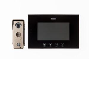 Channel Safety Systems D/ENT/KIT/3/BK/SL ENTRitech 7″ Hands Free Video Kit With Slimline Camera