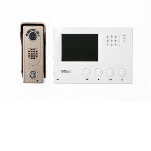Channel Safety Systems D/ENT/KIT/1/WH/SL ENTRitech 4″ Hands Free Video Kit With Slimline Camera