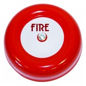 F Chbl 6 1 6 Red Fire Bell Innovate Electrical Supplies Ltd