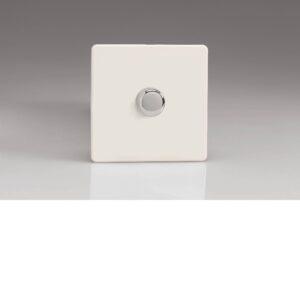 Varilight HDQ10S 1 Gang 250W 1-Way Rotary Fan Regulator Dimmer