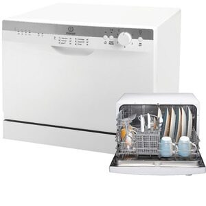 Indesit ICD661 6 Place Dishwasher In White