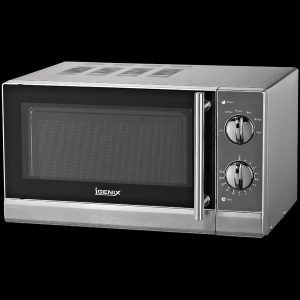 Igenix ig2855 20 litre manual microwave with a stainless Microwave with stainless steel interior