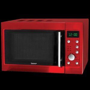 Igenix IG2940 20 Litre Digital Microwave In Red Metallic
