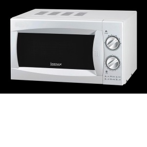 Igenix Ig2980 20 Litre Manual Microwave In White With A Stainless Steel Interior Innovate