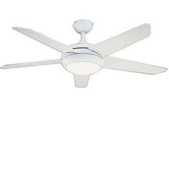 Global 52 Neptune Ceiling Fan In White Complete With