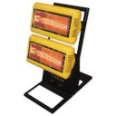 Tansun SORT030 Sorrento Target 3kW Mobile Heater With Stand