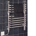 Dimplex BR150C 150w Ladder Towel Rail In Chrome
