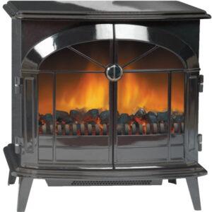 Dimplex SKG20BLN Stockbridge Freestanding Optiflame Effect Fire